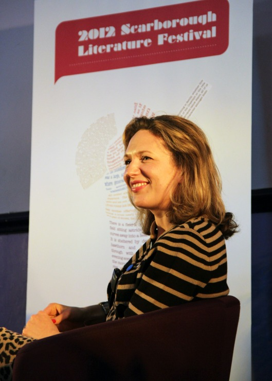 At the Scarborough Literary Festival 2012